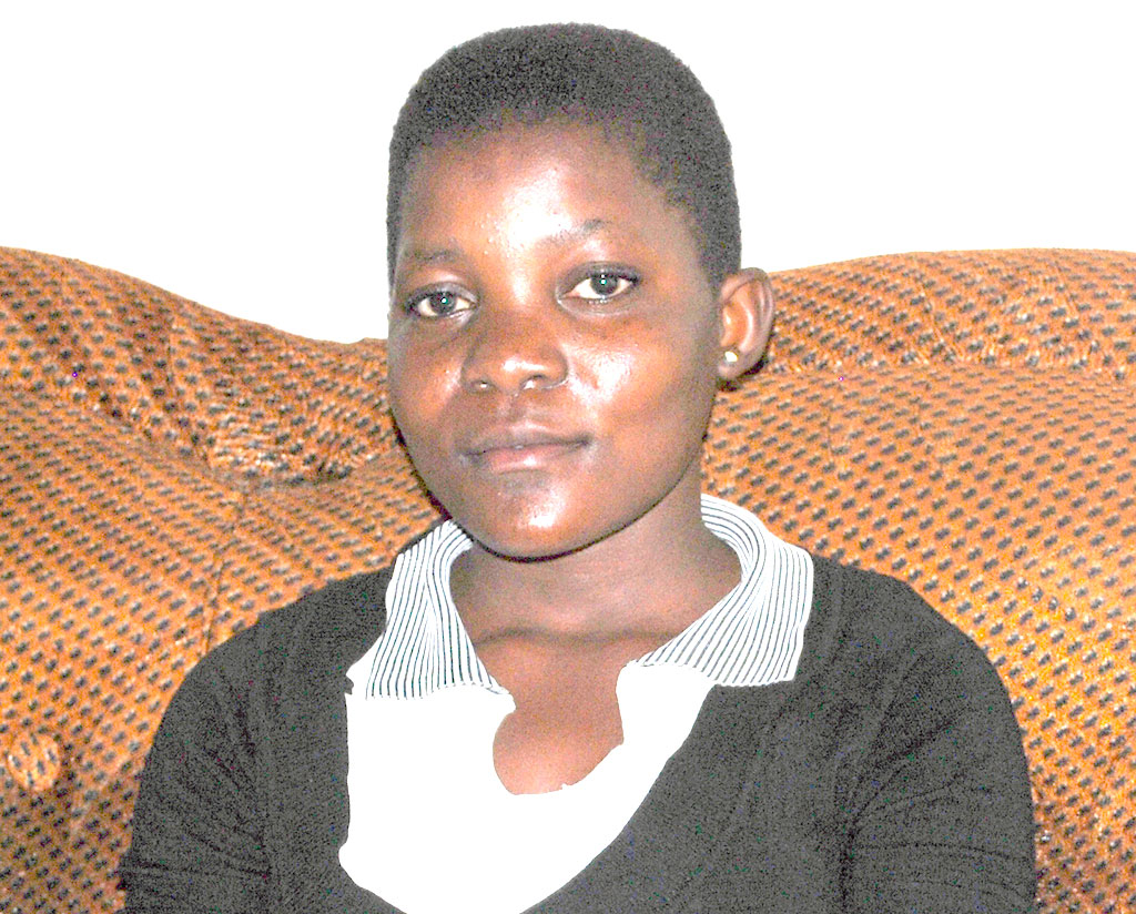 Lydia Naluyiga looks healthy. She is indebited to Kitovu Mobile for the HIV care accorded to her