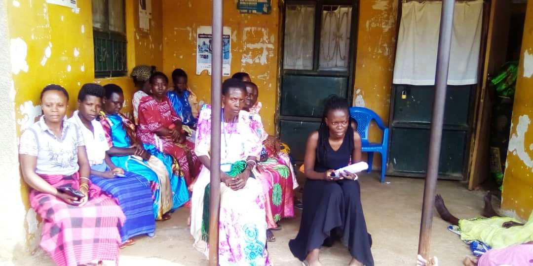 Grandmothers at Lwamba Health Center II in patiently waiting for medicare.KITOVU MOBILE PHOTOS