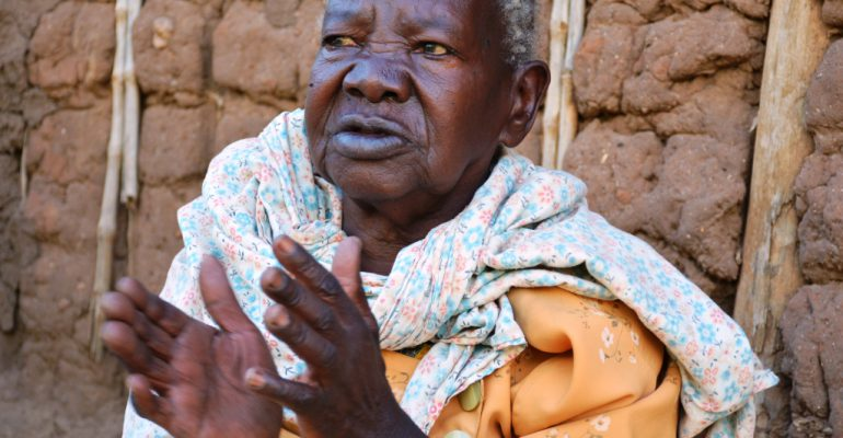Healed: Teddy Namusu four decades of lost life,dignity and well-being resurrected after a fisitula operation at Kitovu Hopsitl. PHOTOS BY MOSES MUWULYA